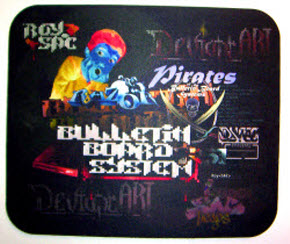 Pirates of the BBS Mousepad
